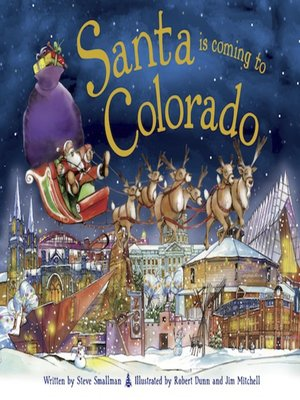 cover image of Santa Is Coming to Colorado