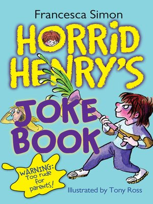 cover image of Horrid Henry's Joke Book