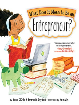 cover image of What Does It Mean to Be an Entrepreneur?