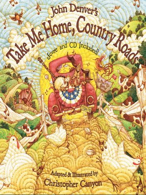 cover image of John Denver's Take Me Home, Country Roads