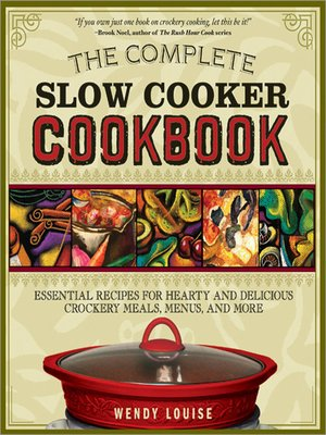 cover image of The Complete Slow Cooker Cookbook