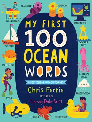 cover image of My First 100 Ocean Words