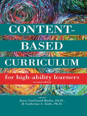 cover image of Content-Based Curriculum for High-Ability Learners
