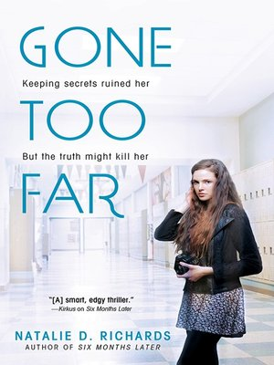 cover image of Gone Too Far