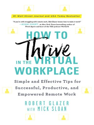 cover image of How to Thrive in the Virtual Workplace