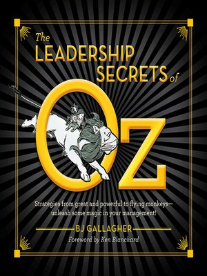 cover image of The Leadership Secrets of Oz