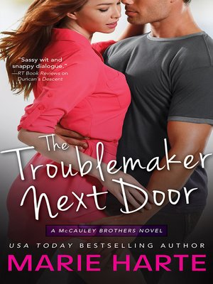 cover image of The Troublemaker Next Door