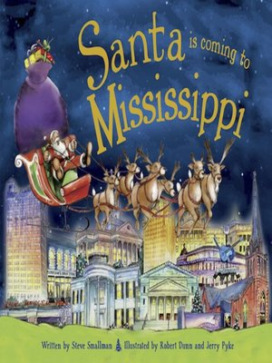 cover image of Santa Is Coming to Mississippi