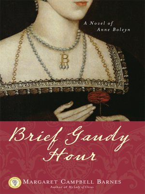 cover image of Brief Gaudy Hour