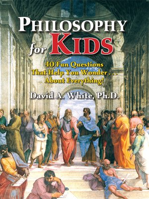 cover image of Philosophy for Kids