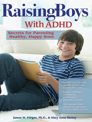 cover image of Raising Boys with ADHD