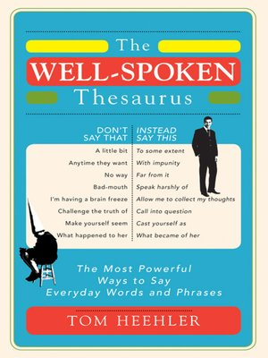 cover image of The Well-Spoken Thesaurus