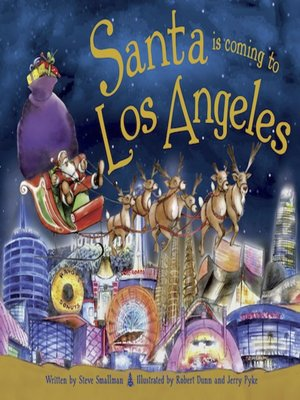 cover image of Santa Is Coming to Los Angeles