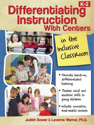 cover image of Differentiating Instruction with Centers in the Inclusive Classroom