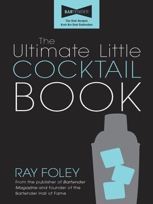 cover image of The Ultimate Little Cocktail Book