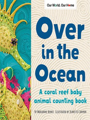 cover image of Over in the Ocean