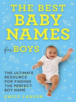 cover image of The Best Baby Names for Boys