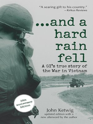 cover image of ...and a hard rain fell