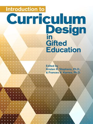 cover image of Introduction to Curriculum Design in Gifted Education