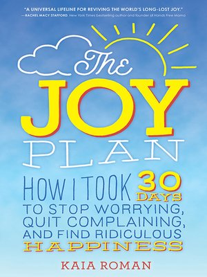 cover image of The Joy Plan