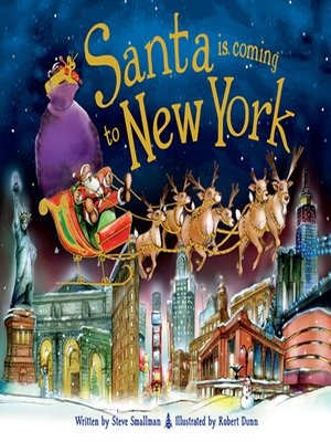 cover image of Santa Is Coming to New York