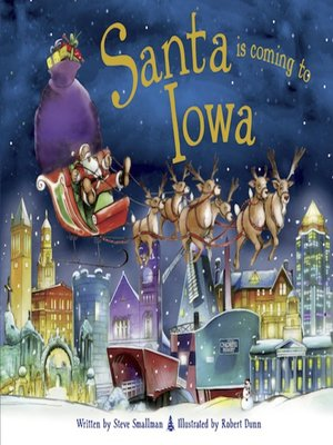 cover image of Santa Is Coming to Iowa