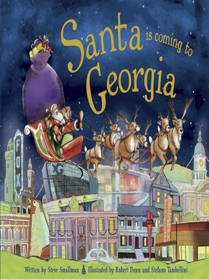 cover image of Santa Is Coming to Georgia