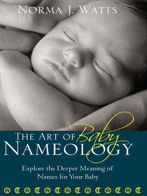 cover image of The Art of Baby Nameology