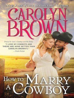 cover image of How to Marry a Cowboy