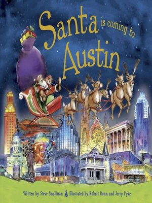 cover image of Santa Is Coming to Austin