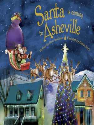 cover image of Santa Is Coming to Asheville