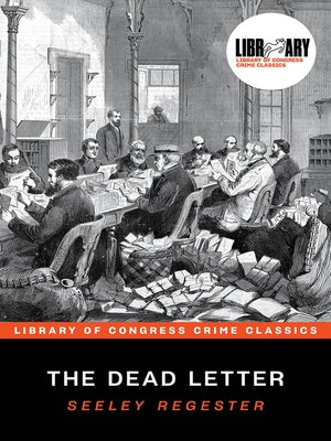 cover image of The Dead Letter