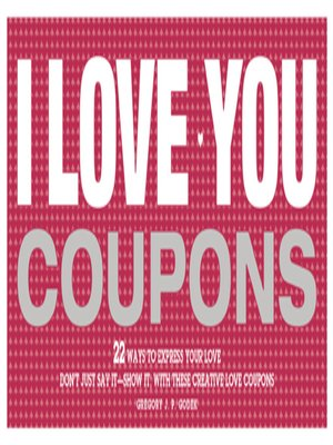 cover image of I Love You Coupons