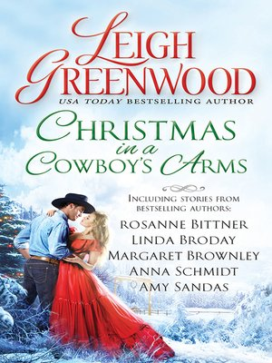 cover image of Christmas in a Cowboy's Arms
