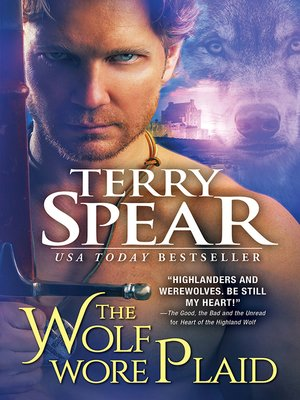 cover image of The Wolf Wore Plaid