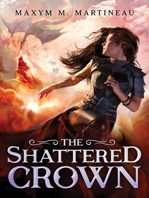 cover image of The Shattered Crown