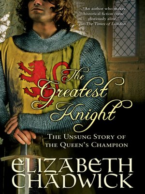 cover image of The Greatest Knight