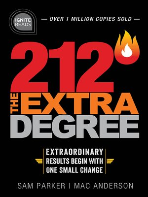cover image of 212 the Extra Degree
