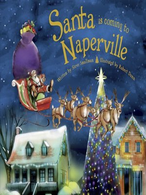 cover image of Santa Is Coming to Naperville