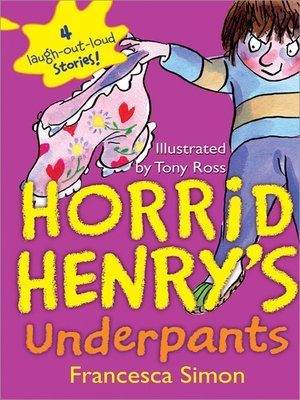 cover image of Horrid Henry's Underpants