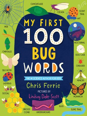 cover image of My First 100 Bug Words