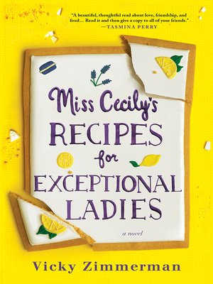 cover image of Miss Cecily's Recipes for Exceptional Ladies