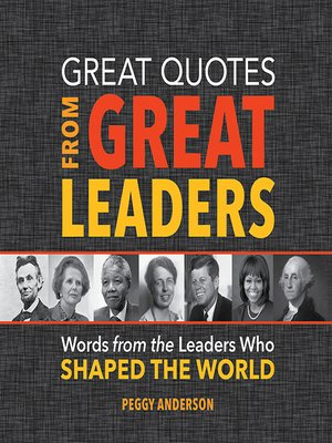cover image of Great Quotes from Great Leaders