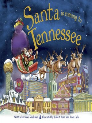 cover image of Santa Is Coming to Tennessee