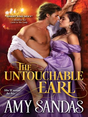 cover image of The Untouchable Earl