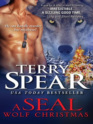 cover image of A SEAL Wolf Christmas