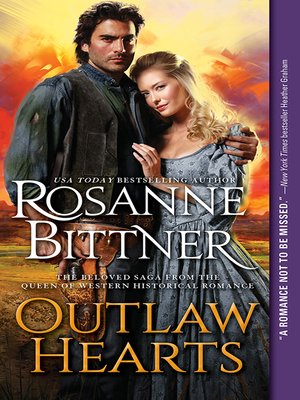 cover image of Outlaw Hearts Series Series, Book 1