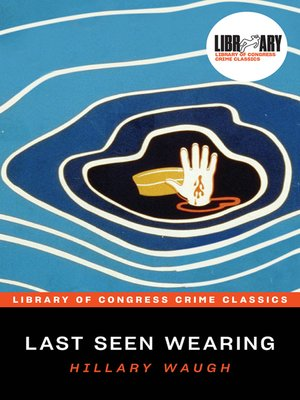 cover image of Last Seen Wearing