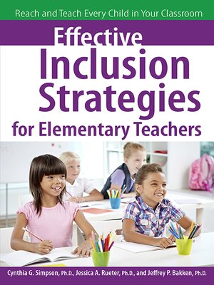 cover image of Effective Inclusion Strategies for Elementary Teachers