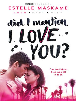 cover image of Did I Mention I Love You?